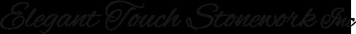 Elegant Touch Stonework Inc Logo